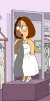 Meg Griffin Shading Wedding 2 by delmardavis