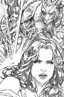 Witchblade 99 pg 5 by AdrianaMelo