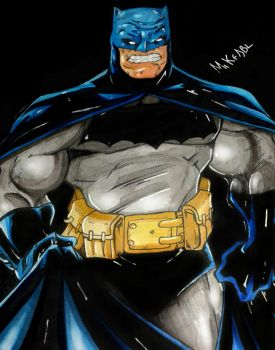 Frank Miller s Batman by MikeES