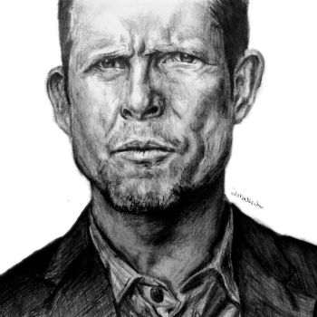 Dean Winters - Detective Russ Agnew by IsraeliCoArt