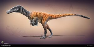Austroraptor.The Stomping Land. 02 by Swordlord3d