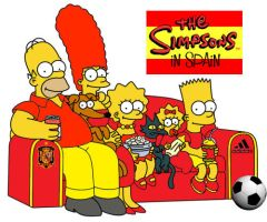 Spanish Simpsons by lightazland77