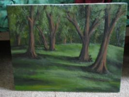 Landscape Practice Painting by debbynaomi