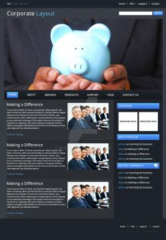 Corporate Layout by Bea228