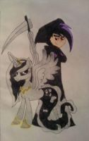 Princess Shade Spectrum and Ksawery Phantom by Ania626