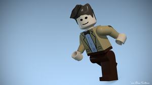 Lego 11th Doctor Who by TheBigDaveC
