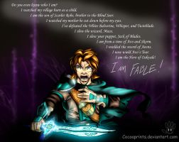 I Am Fable by Cocoaprints