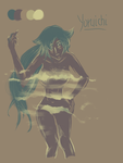 Palette doodle #3 - Yoruichi by McFearless1810