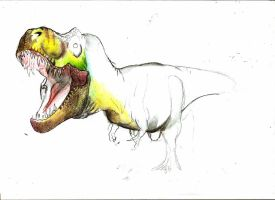 JP expanded T-rex preview by Teratophoneus