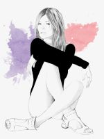 Kate Moss by Nazgrelle