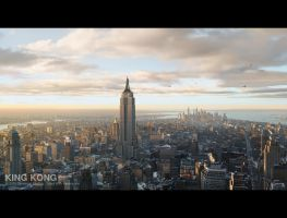 King Kong - New York 2 by 3DnuTTa