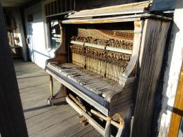 Here's the full view of the piano from the 1800's. by fearfulpastel