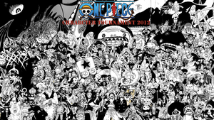 the one piece character tournament 2012 by DOR20