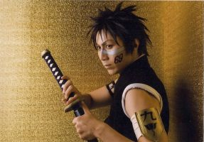 Bleach rock musical Hisagi by wolf-speaker9