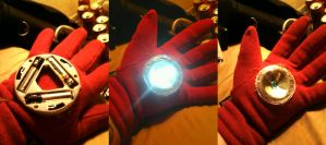 Iron Man Arm Work In Progress by kay-sama