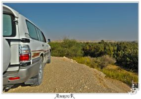 Land Cruiser - over the hill by AMROU-A