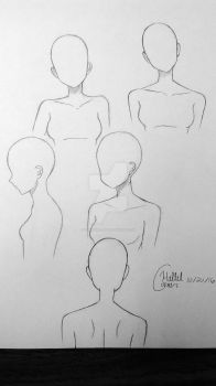 Head Positions Reference by LightGirl-01