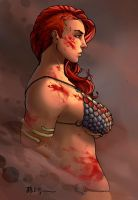 Red Sonja ~ She-Devil with a Vengeance by Harpokrates