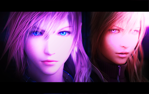 Past and Present FFXIII by Kitsume-the-wolf