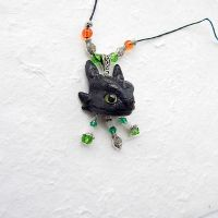 Toothless Night Fury head pendant 2 by koshka741