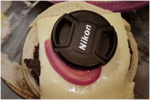 Cheease Burger Nikon by MUJTABOOOO