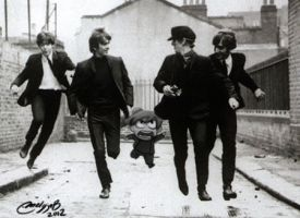 beatles by melivillosa