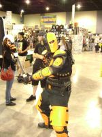 Deathstroke cosplay by Robot001