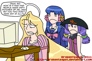 Lucky to be unpopular by BrokenTeapot
