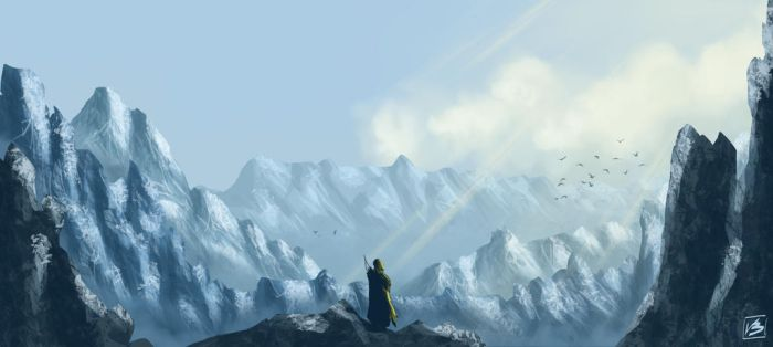 The Mountains by Absalom7