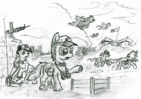 pony warfare by Ulyanovetz