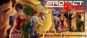 Project Red Comic eBook by DrawSlowly