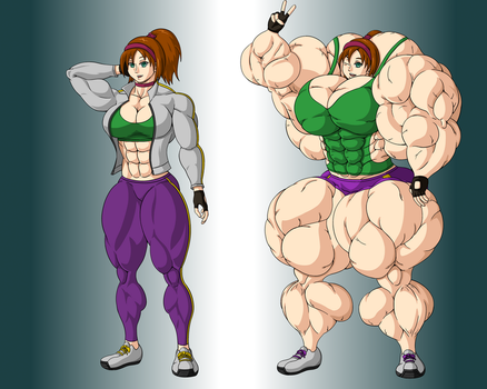 Body Comparison by FudgeX02