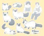 WoD : Mosse doodle compilation by Siltae