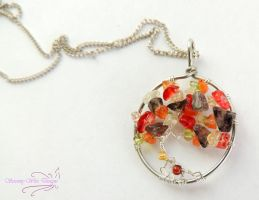 Autum Leaves by SerenityWireDesigns