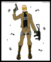 Commission - Agent X by Femmes-Fatales