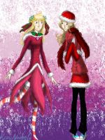Christmas Outfits 2012 by HezuNeutral