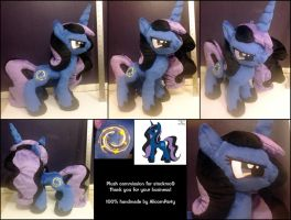 stockmo9 Plush Commission by AlicornParty