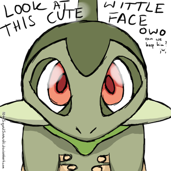 Pokemon: 'Look at this cute wittle face!' by 16thSquadSanseki