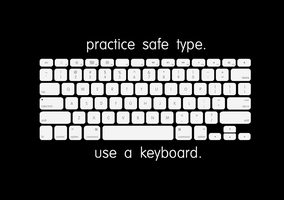 practice safe type. by VaIisk