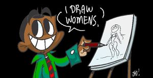 i draw womens by JustinDurden