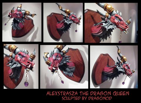 Alexstrasza Bust by DragonCid