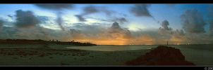 Morris Island Panorama by digimatte