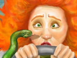 Snakes in a Car: Close Up by Kooky-Crumbs