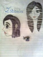 1st person drawing try by IsabelaDaVinci