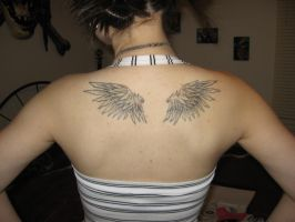wings tattoo by xEvilDuckyx