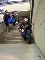 Dean on the stairs 2 by regates