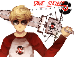 DAVE BROKEN RECORD SWORD - HOMESTUCK by LaWeyD