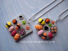 Sushi necklace ..for sale.. by SaMtRoNiKa