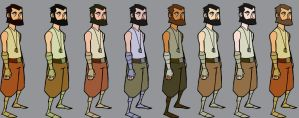 Hermit color tests by mcnostril