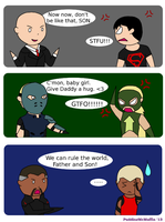 Young Justice: Father's Day by PuddingMcMuffin